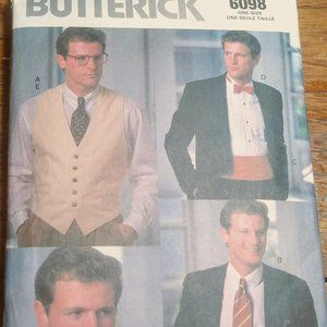 Butterick One Size Men's Fashion Accessories